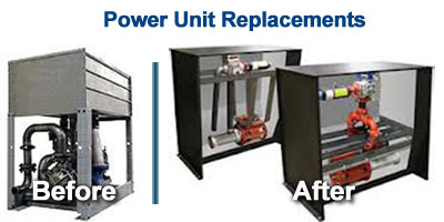 Elevator Power Unit Replacement
