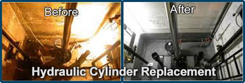 Hydraulic Cylinder Replacement
